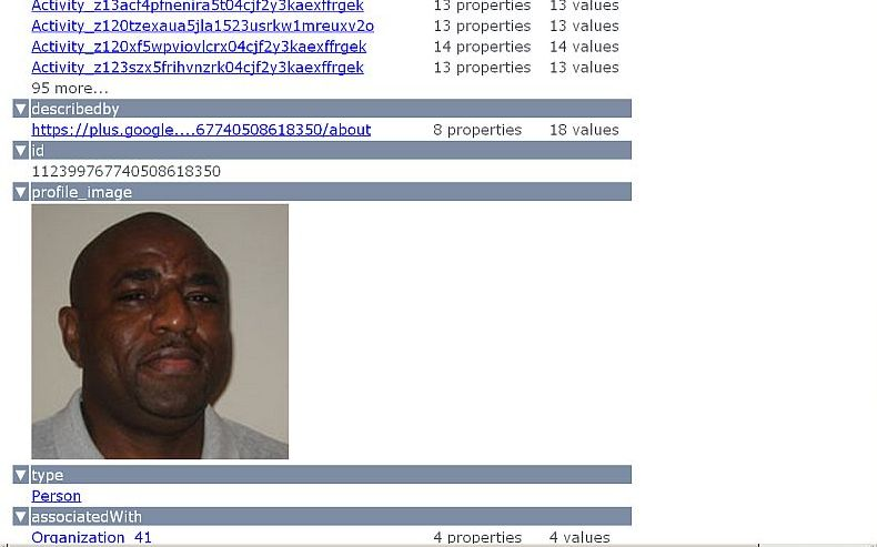 OpenLink Data View Kingsley Idehen Google Profile